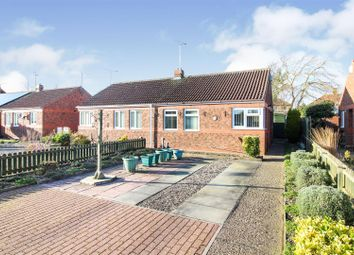 Thumbnail 1 bed semi-detached bungalow for sale in New Walk Close, Driffield