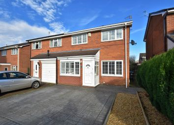 Thumbnail 3 bed semi-detached house for sale in Delfur Road, Bramhall, Stockport