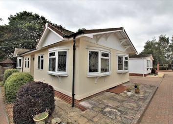 2 bed mobile/park home for sale in Upper Cornaway Lane, Portchester, Fareham PO16