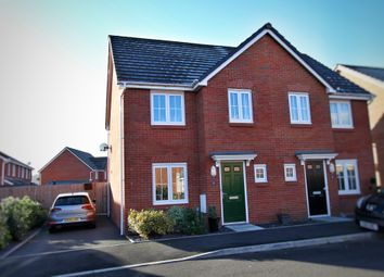 Thumbnail 3 bed semi-detached house for sale in Clos Honddu, Bettws, Newport