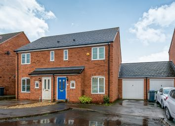 Thumbnail 3 bed semi-detached house for sale in Forge Close, Churchbridge, Cannock