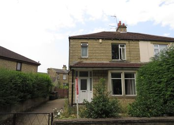 Thumbnail 3 bed semi-detached house for sale in Cemetery Road, Low Moor, Bradford