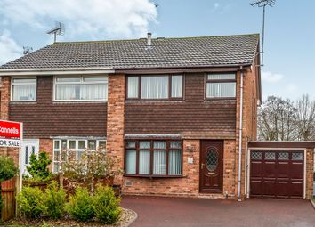 Thumbnail 3 bed semi-detached house for sale in Melbourne Crescent, Stafford