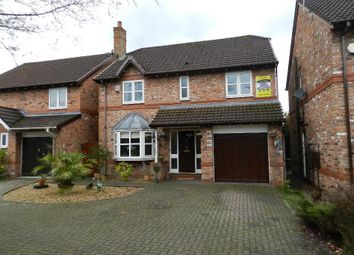 Thumbnail 4 bed detached house for sale in Lowfield Gardens, Glazebury, Warrington
