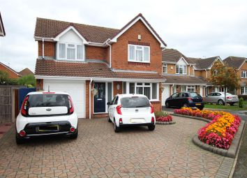 Thumbnail Detached house for sale in Stewart Close, Branston, Burton-On-Trent