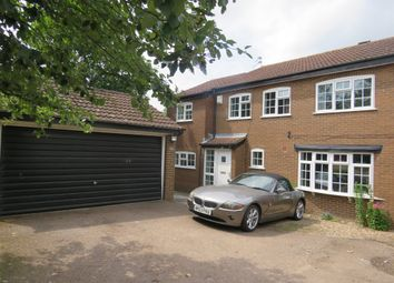 Thumbnail 4 bed detached house for sale in Stevenstone Close, Oadby, Leicester