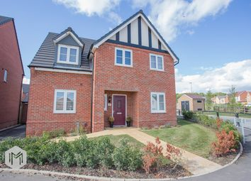 Thumbnail 4 bed detached house for sale in Burgess Way, Worsley, Manchester