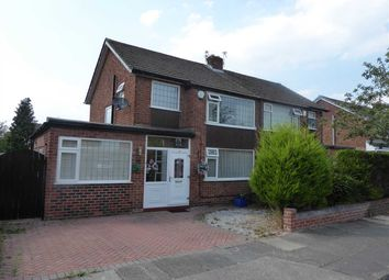 Thumbnail 4 bed semi-detached house for sale in Bradwell Drive, Heald Green, Cheadle