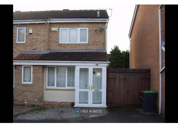 Thumbnail 2 bed semi-detached house to rent in Hazel Meadows, Hucknall