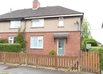 Thumbnail 3 bed semi-detached house for sale in Argles Road, Leek, Staffordshire