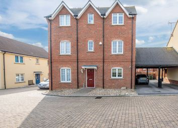 Thumbnail 4 bed town house for sale in Leys Close, Aylesbury