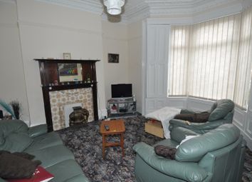 Thumbnail 4 bedroom terraced house to rent in Cresswell Terrace, Sunderland