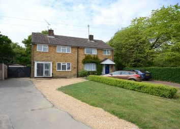 Thumbnail 3 bed semi-detached house for sale in Haddon Drive, Woodley, Reading