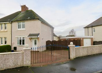 Thumbnail 2 bed semi-detached house for sale in Calder Drive, Mossend
