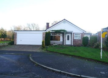 Thumbnail 3 bed detached bungalow for sale in Detached Bungalow With Double Garage Dunsgreen, Ponteland, Newcastle Upon Tyne