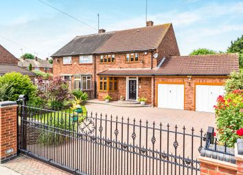 Thumbnail 3 bed semi-detached house for sale in Dorking Road, Harold Hill, Romford
