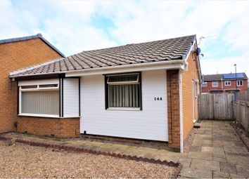 Thumbnail 2 bed semi-detached bungalow for sale in Canterbury Avenue, Wallsend