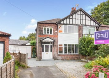 3 bed semi-detached house for sale in Penrhyn Drive, Prestwich, Manchester M25