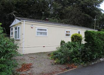 Thumbnail 2 bed mobile/park home for sale in Honicombe Park (Ref 5438), Callington, Cornwall