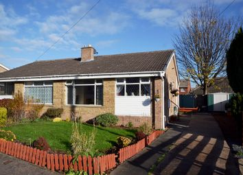 Thumbnail 2 bed semi-detached bungalow for sale in Mapplewell Drive, Ossett