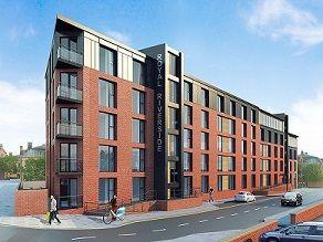 Thumbnail Block of flats for sale in Royal Riverside, Priestley Street, Sheffield