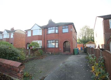 Thumbnail 4 bed semi-detached house for sale in Derbyshire Lane West, Stretford, Manchester