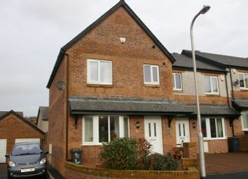 Thumbnail 3 bed mews house to rent in Lancewood Crescent, Barrow-In-Furness