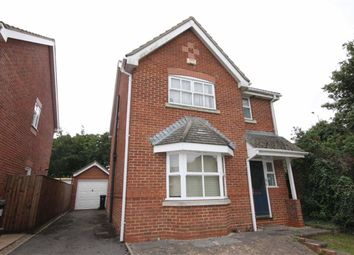 Thumbnail 3 bed detached house for sale in Deverel Close, Christchurch, Dorset