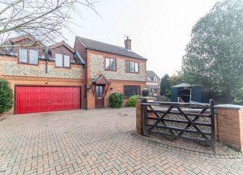 Thumbnail 4 bed detached house for sale in West End, Briston, Melton Constable