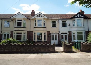 Thumbnail 3 bed terraced house for sale in Westhill Road, Coundon, Coventry, West Midlands