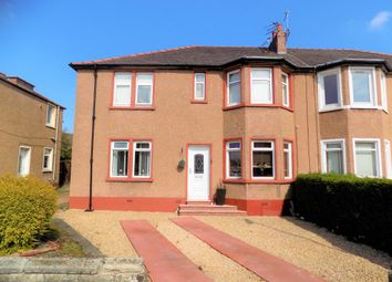 Thumbnail 3 bed flat for sale in Earnock Avenue, Motherwell