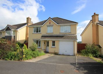 Thumbnail 4 bed detached house for sale in Maes Y Wennol, Pentremeurig Road, Carmarthen, Carmarthenshire