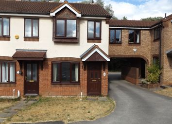 Thumbnail 2 bed town house to rent in Chestnut Close, Heath Hayes, Cannock