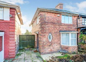 Thumbnail 3 bed semi-detached house for sale in Kings Road, Kingstanding, Birmingham