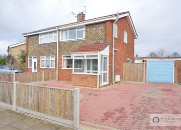 Thumbnail 3 bed semi-detached house for sale in Edinburgh Avenue, Gorleston, Great Yarmouth