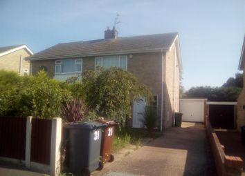 Thumbnail 3 bed semi-detached house for sale in Woodvale Avenue, Lincoln