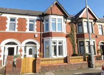 Thumbnail 3 bedroom terraced house for sale in Lansdowne Road, Canton, Cardiff