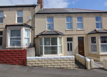 Thumbnail 3 bed terraced house for sale in Coigne Terrace, Barry