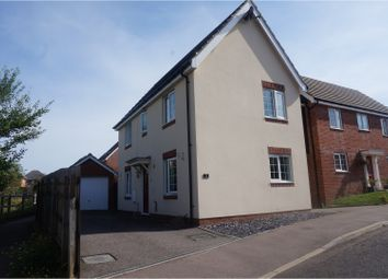 Thumbnail 3 bed link-detached house for sale in Peregrine Drive, Stowmarket