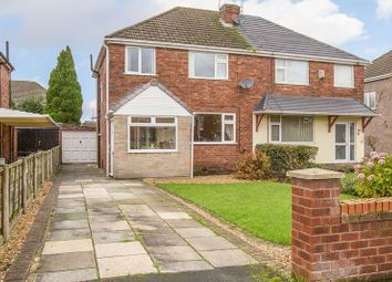 Thumbnail 3 bed semi-detached house for sale in Greenhill Crescent, Billinge, Wigan