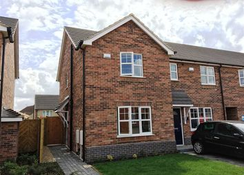 Thumbnail 2 bed town house to rent in Bilberry Close, Burdock Gardens, Scunthorpe