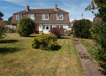 Thumbnail 3 bed semi-detached house for sale in North Croft, Williton, Taunton