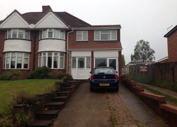 Thumbnail 4 bed semi-detached house to rent in Cramlington Road, Great Barr, Birmingham