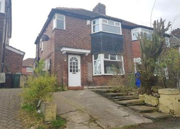 Thumbnail 3 bed semi-detached house for sale in Kings Close, Abbey Hey, Manchester, Greater Manchester