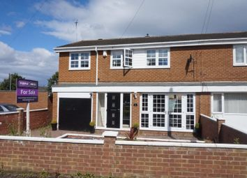 Thumbnail 4 bed semi-detached house for sale in Stanton Avenue, Blyth