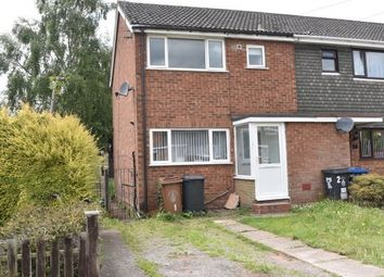 Thumbnail 3 bed property to rent in Foxhills Close, Burntwood
