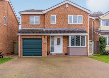 Thumbnail 4 bed detached house for sale in Church Close, Tollerton