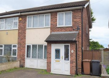 Thumbnail 3 bedroom semi-detached house for sale in Norwich Road, Ipswich