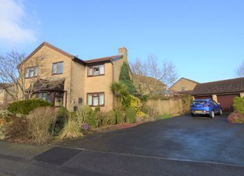 Thumbnail 4 bed detached house for sale in Wellow Mead, Peasedown St. John, Bath
