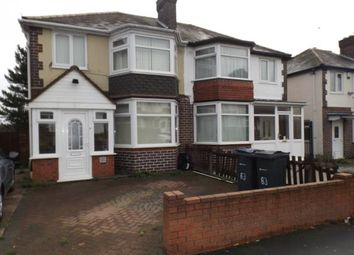 Thumbnail 3 bedroom semi-detached house for sale in Chipperfield Road, Hodge Hill, Birmingham, West Midlands